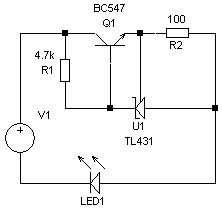 TL431-Current Source /LED driver