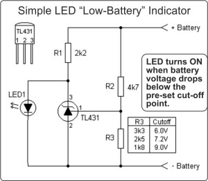 TL431A-LED-Battery-Low-Indicator