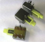 Mini Right-Angle, Push-On-Push-Off Switch