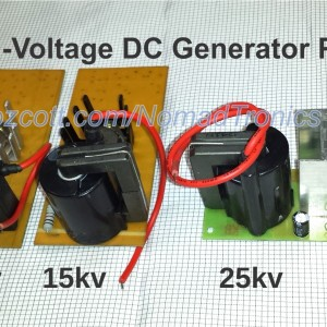 High-Voltage DC Generator PCB Modules