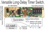 Simple Long-Delay Timer Module